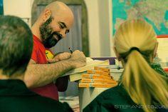 Ivano Porpora, autore del #dispetto inedito, presenta Sulla blasfemia a #Parma, #libreria Diari di bordo