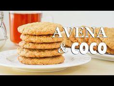 Galletas fáciles de Avena y Coco - Recetas de postres (y panes)