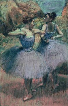 Dancers In Violet Giclee Print Poster by Edgar Degas Online On Sale at Wall Art Store – Posters-Print.com