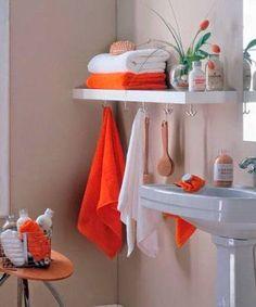 Para quienes necesitan un poco de orden en el cuarto de baño pequeño 9b5a893bf14a