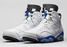 """Air Jordan (Retro) 6 """"Sport Blue"""""""