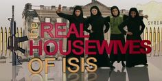 Liberals LOSE IT Over Hilarious New Show 'The Real Housewives of ISIS'
