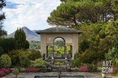 The Italian Garden at Garnish Island in Glengarriff, County Cork Photographic Print by Chris Hill at Art.com