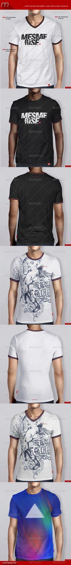 T-Shirt Mockups Studio Edition by MintMockups Professional set of 8 ...
