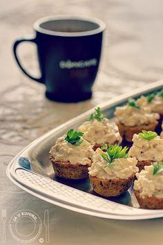 JA U KUHINJI...: Celer salata u integralnim korpicama