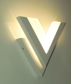 Modern yet functional. The Vegas Wall light is an ultra-modern fitting that is ideal for creating ambient light in a room.  The low energy, long life LED chips project light upward out of the dual 'V' design.  Mount multiple to the wall to achieve desired effect.