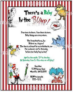 free pdf dr. seuss baby shower invitations   love: blog posts, Baby shower invitations