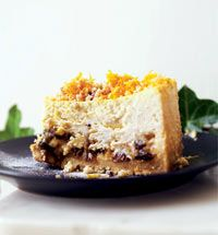 Mincemeat cheesecake; last year's alternative to Christmas pudding. So, so delicious.