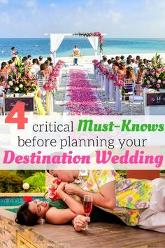 So simple yet so necessary! These 4 things will definitely set me up for wedding success...and have already minimized my stress. Thanks Bliss Honeymoons, practical stuff I can put in place today. Love love 4 critical things to know before planning a destination wedding.