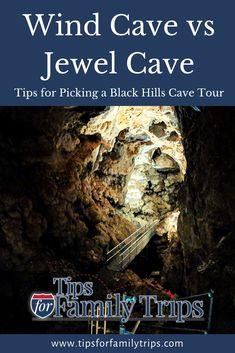 Jewel Cave vs Wind Cave - it's a tough choice!