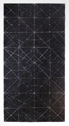 Niall McClelland Tapestry - Cutting Board Folded photocopy on paper 2011