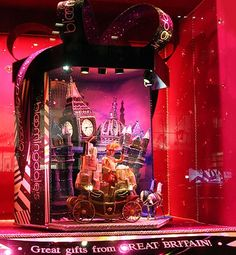 The Most Elaborate Holiday Window Displays