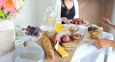 Delicious foodie spread for an outdoor party
