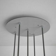 Stropné držiaky jednoduché pre zavesenie svietidiel na mieru Design Vase, Lighting, Stabil, Home Decor, Products, Diamond, Small Lamp Shades, First Up Canopy, Paint Metal