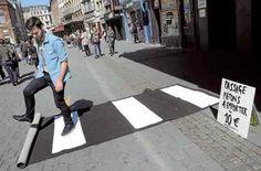 pop up crosswalk