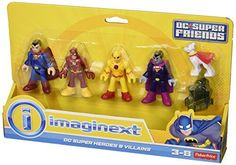 Imaginext DC Super Heroes and Villains Figure Playset with Exclusive Professor Zoom ** You can get more details by clicking on the image.