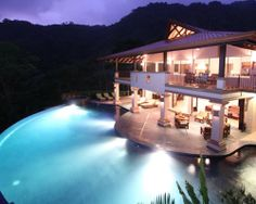 http://costaricamilliondollarhomes.com/Casa-Luxury-Resort-Villas-Dominical/index.html Mareas Luxury Villa Estate was built for the enjoyment of the beauty that is Costa Rica. Located along the Costa Ballena, a corridor for wildlife and untouched primary rainforest, the three villas optimize the natural surroundings through their design and function. Situated on 36 acres of primary rainforest surrounded by an additional 200 acres of preserve, the privacy this estate provides is unmatched.