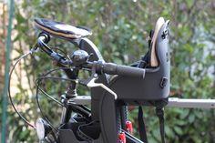Der WeeRide fertig auf meinem Fahrrad montiert