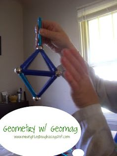 Geomag- Geometry Extensions from Mixing Playdough