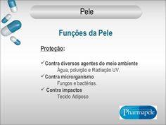 Proteção:  Contra diversos agentes do meio ambiente  Água, poluição e Radiação UV.  Contra microrganismo  Fungos e bactérias...