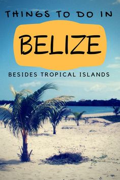 Belize is not all about islands there is so much more! Don't neglect the mainland, there is so much to explore. So if you're planning a trip to Belize, check out our article. Put these towns on your list of places to visit in Belize. #belize #traveltips #centralamerica