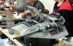 Star Wars Fighter Model.