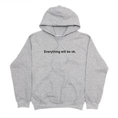 Everything will be ok hoodie greys anatomy hoodie fleece Unisex casual tops fashion tumblr hoodie high quality jumper hoodies -in Hoodies & Sweatshirts from Women's Clothing & Accessories on Aliexpress.com   Alibaba Group