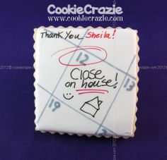 CookieCrazie: Realtor Thank You Cookie Collection