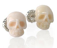 ETHELYN (skull earrings) by SarahRicheyJewelry on Etsy, $175.00