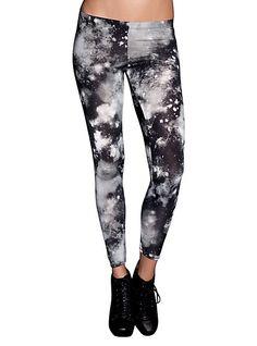 Black Galaxy Leggings | Hot Topic