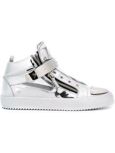 GIUSEPPE ZANOTTI 'Kriss' Hi-Top Sneakers. #giuseppezanotti #shoes #sneakers