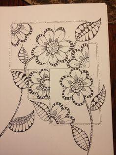 Zentangle Flowers Galore!