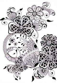 zentangle very pretty one :)