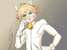 Miraculous Ladybug and Chat Noir Chat Blanc
