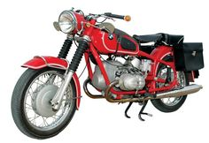 Desirable and rare, the BMW R69US was built to be ridden. John Landstrom's Granada Red 1969 proves the point.