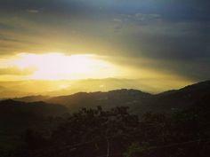 #sunset over #mountains of #caguas #puertorico #sun