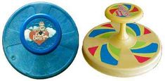 My all time favorite toy growing up...my red sit n ' spin!