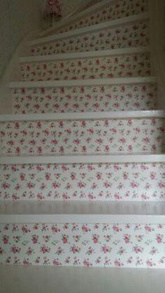 Mijn trap gepimt