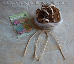 Upcycle Toilet Paper Rolls Into a Pretty Floral Wreath