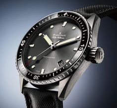 Blancpain Fifty Fathoms Celebrates 60 years with the Bathyscaphe Men's