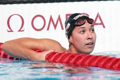 Ranomi Kromowidjojo of the Netherlands competes during the Swimming Women's 100m Freestyle Semifinal 2 on day thirteen of the 15th FINA World Championships at Palau Sant Jordi on August 1, 2013 in Barcelona, Spain.