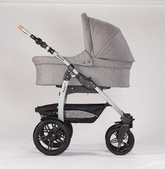 Naturkind Erstlingswagen Siebenschläfer: Babykorb + Varius-Gestell | Varius Pro Erstlingswagen | Naturkind Varius Pro | Naturkind Kinderwagen | ZWERGE.de - Mein Babyshop