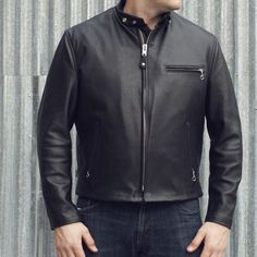 Union Garage NYC | Schott 141 Classic Cowhide Racer - Jackets