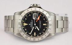 Rolex 'Steve McQueen' Orange Hand Explorer II 1655