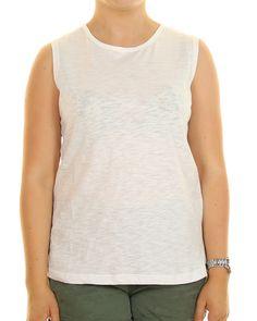Inseption - Ladies - Ripcurl -Premium Basic Muscle - White