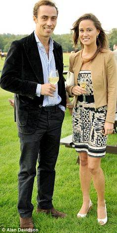 James & Pippa Middleton (Kate's sister and brother)