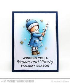 Francine Handmade Christmas Card