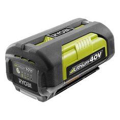 RYOBI 40 VOLT LARGE HIGH CAPACITY FAT PACK LITHIUM-ION BATTERY OP4026