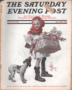 SATURDAY EVENING POST NOVEMBER 18TH, 1911
