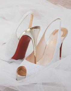 Christian Louboutin wedding heels
